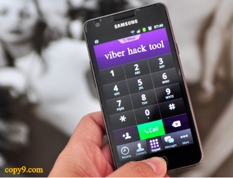 hack viber account pc